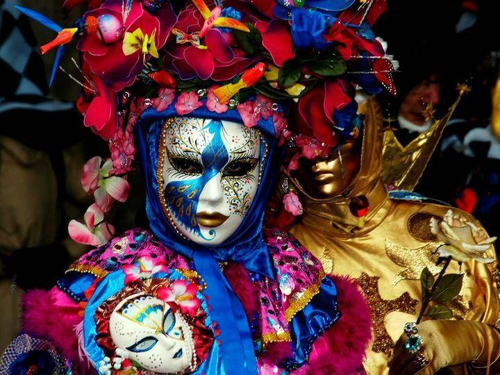 Карнавал масок в Венеции