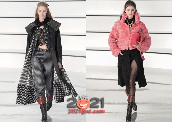 Шанель осень-зима 2020-2021 - основные тренды коллекции