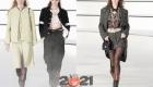 Шанель осень-зима 2020-2021 костюмы из твида