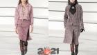Шанель осень-зима 2020-2021 юбки из твида