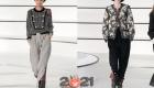 модные брюки от Шанель на зиму 2021 года