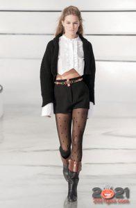 Chanel осень-зима 2020-2021 - короткие шорты