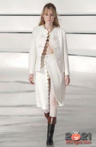 Chanel осень-зима 2020-2021 - шорты с юбкой