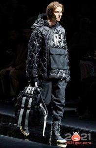 Мужская стеганая куртка осень-зима 2020-2021