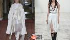 Модные тренды 2021 года - банты и бахрома
