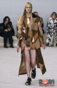 Зима 2020-2021 - модное лоскутное пальто