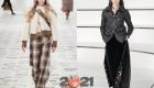 Широкие брюки - мода сезона осень-зима 2020-2021