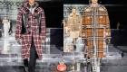 Модные мужские клетчатые пальто 2021 года