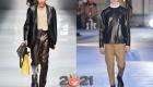 Кожаные мужские куртки сезона осень-зима 2020-2021 года