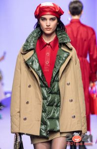 Модные кожаные береты зимы 2020-2021 года