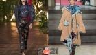 Модные джинсы 2020-2021 года с цветочным принтом