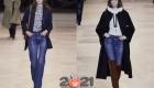 Классические синие джинсы в сезоне осень-зима 2020-2021
