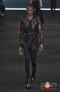 Модные темно-серые джинсы сезона осень-зима 2020-2021
