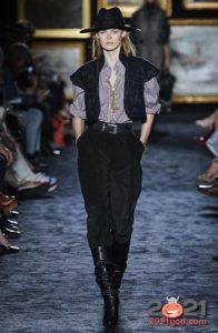 Модные черные джинсы сезона осень-зима 2020-2021