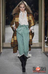 Модные мятные джинсы 2020-2021 года