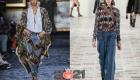 Модные комбинированные джинсы на 2021 год