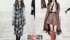 Модная клетка - лучшие луки зимы 2020-2021 года