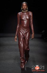 Модные кожаные луки осень-зима 2020-2021