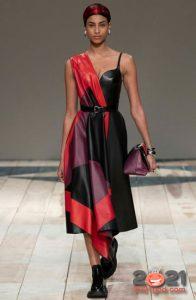 модный асимметричный лук от Диор на 2021 год
