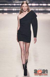 модный асимметричный лук сезон осень-зима 2020-2021
