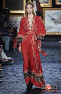 Модные образы в этно стиле на 2021 год