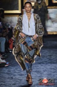 Этнический стиль в модных луках 2021 года