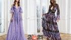 Красивые романтичные платья зимы 2020-2021