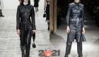 Модный кожаный тотал на 2021 год-лук