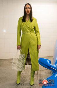Модные лимонные сапоги осень-зима 2020-2021