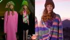 Модные цветные объемные шапки осень-зима 2020-2021