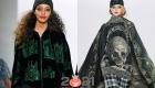 Модная шапка бини со стразами осень-зима 2020-2021