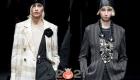 Модная шапка бини от Армани осень-зима 2020-2021