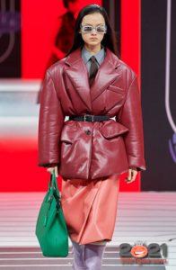 Модная зеленая сумка сезона осень-зима 2020-2021