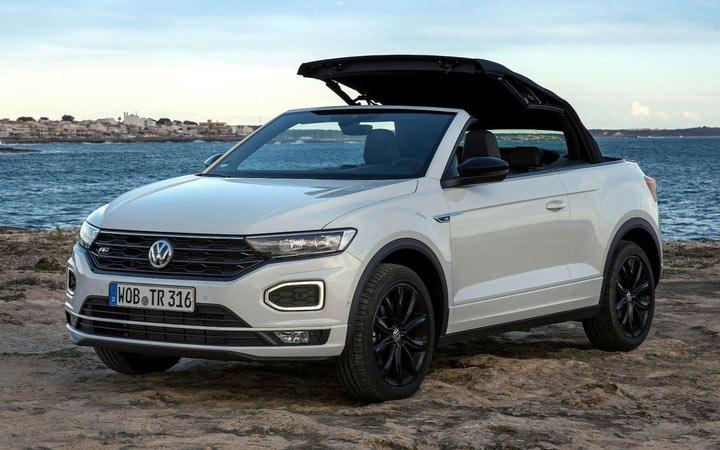Volkswagen T-Roc Cabriolet 2020-2021 года