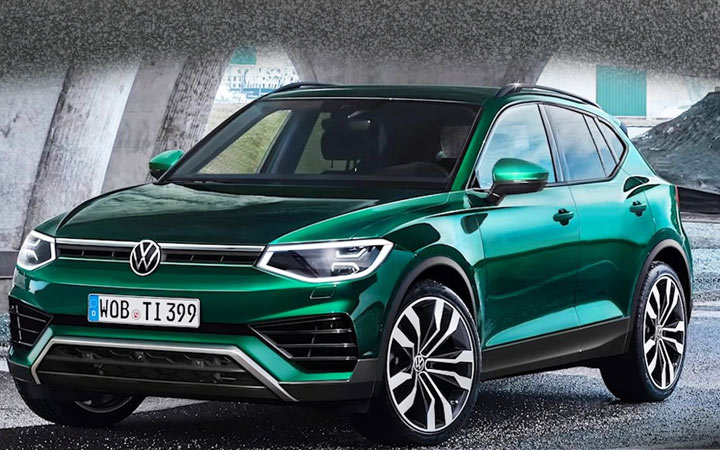Volkswagen Tiguan 2021 года