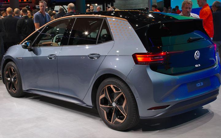 Новый электрокар Volkswagen ID.3 2020-2021