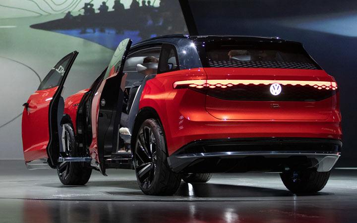 Новый Volkswagen ID CROZZ 2021