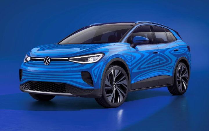 Новый электрокар Volkswagen ID.4 2020-2021