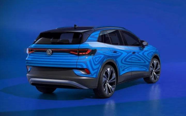 Экстерьер Volkswagen ID.4 2020-2021