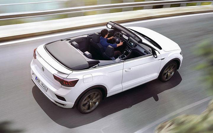 Экстерьер Volkswagen T-Roc Cabriolet 2020-2021 года