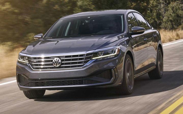Volkswagen Passat 2020-2021 года