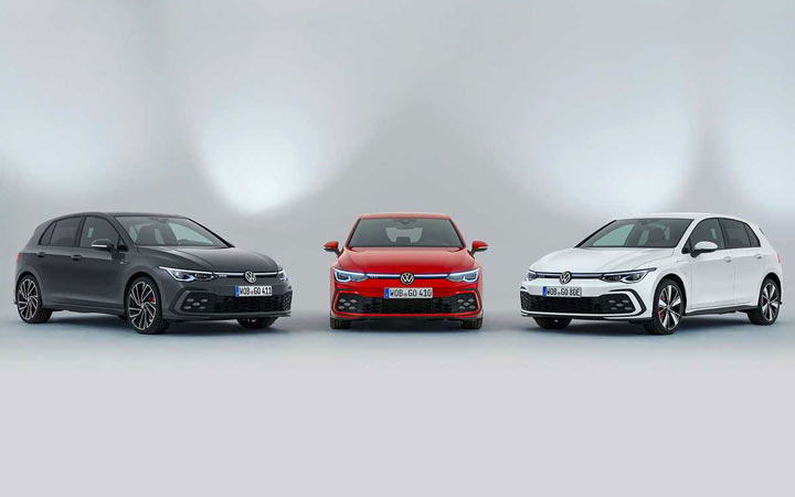 Volkswagen Golf 2020-2021 года