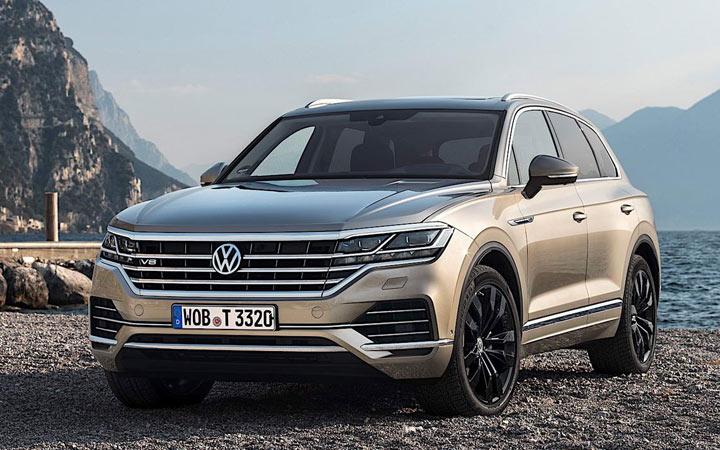 Volkswagen Touareg R 2020-2021 года