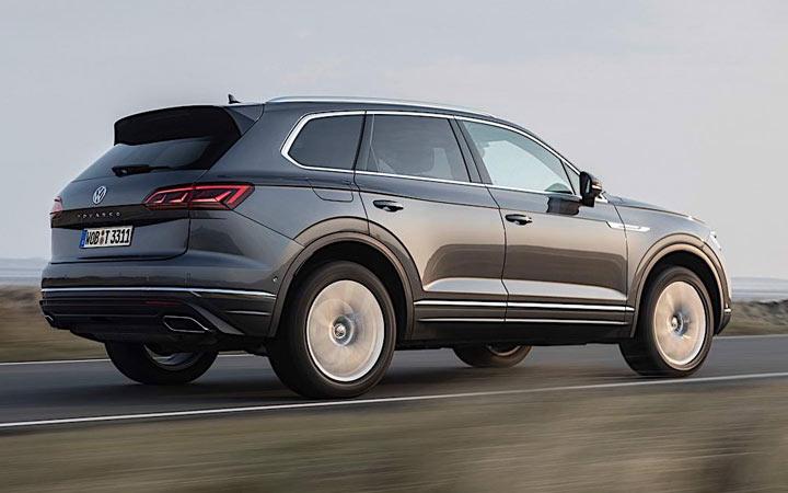 Экстерьер Volkswagen Touareg R 2020-2021 года