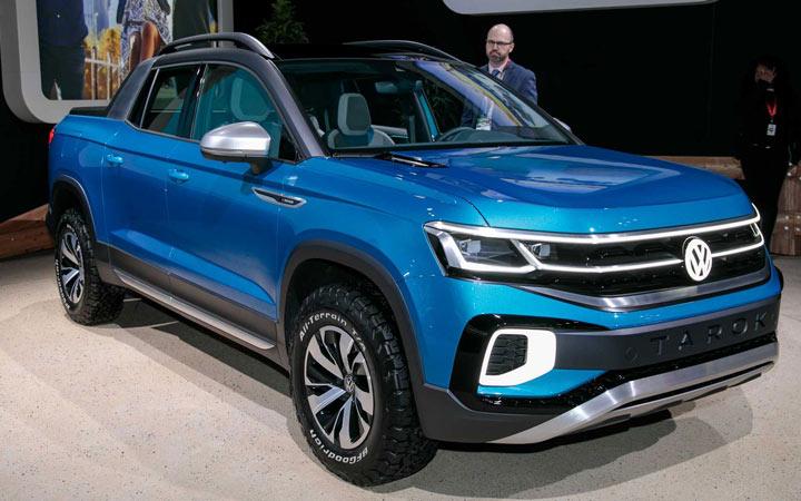 Volkswagen Tarok 2020-2021 года