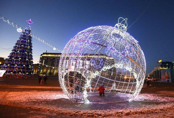 Новогодние экскурсии в Москве