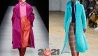 Модные яркие пальто на зиму 2020-2021