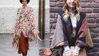Модные пончо на 2021 год