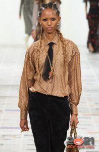 Красивая блуза на зиму 2020-2021 года