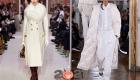 Модные белые пальто для базового гардероба зимы 2020-2021